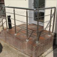 Лестничные ограждения (перила) из нержавеющей стали для входной группы